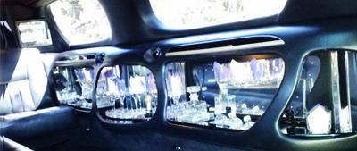 Lincoln Limousine Interior