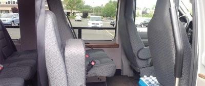 Luxury Shuttle Interior