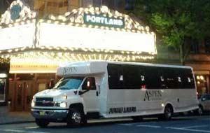 Portland City Tour Limousine Party Bus