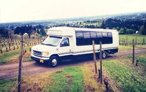 Portland Wine Tour Party Bus
