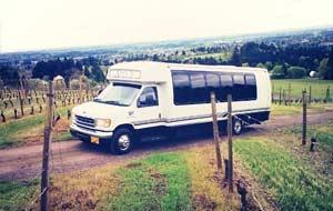 Portland Wine Tour Party Bus