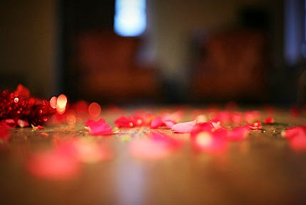 Top 10 Valentines Day Ideas - Rose Petals