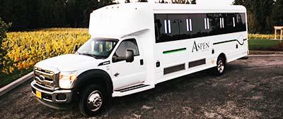 26 Passenger Limo Bus